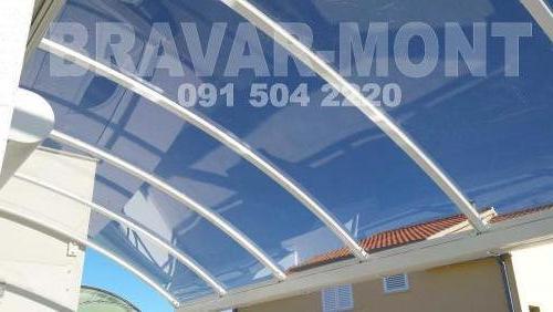 Bravar-Mont-626 polikarbonatne lexan svjetlosne konstrukcije