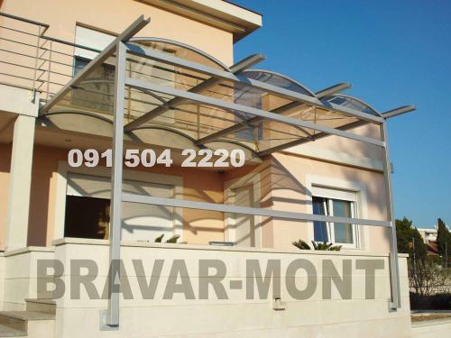 Bravar-Mont-628 polikarbonatne lexan svjetlosne konstrukcije