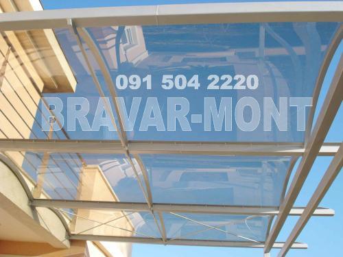 Bravar-Mont-629 polikarbonatne lexan svjetlosne konstrukcije
