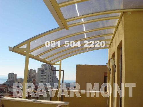 Bravar-Mont-632 polikarbonatne lexan svjetlosne konstrukcije