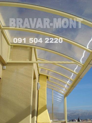 Bravar-Mont-633 polikarbonatne lexan svjetlosne konstrukcije