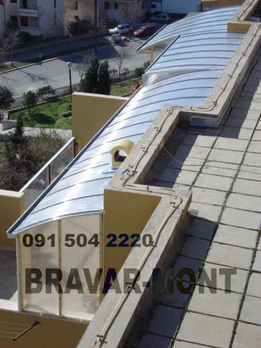 Bravar-Mont-634 polikarbonatne lexan svjetlosne konstrukcije