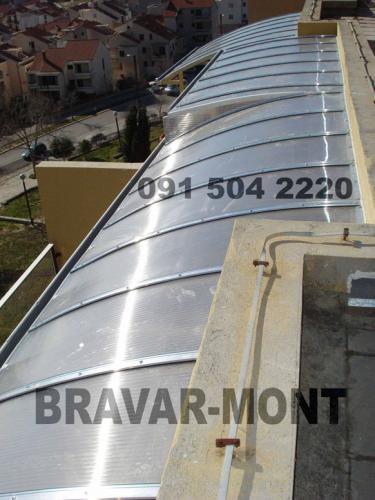 Bravar-Mont-635 polikarbonatne lexan svjetlosne konstrukcije