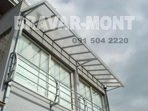 Bravar-Mont-640 polikarbonatne lexan svjetlosne konstrukcije