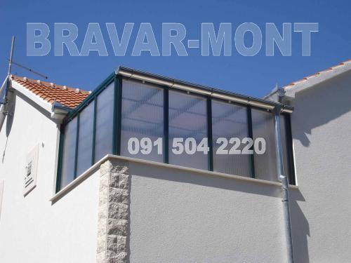 Bravar-Mont-646 polikarbonatne lexan svjetlosne konstrukcije
