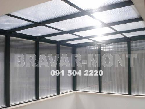 Bravar-Mont-647 polikarbonatne lexan svjetlosne konstrukcije