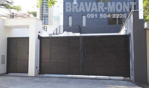 Bravar-Mont-410 moderne kapije i ograde