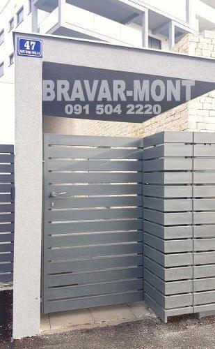 Bravar-Mont-425 moderne kapije i ograde