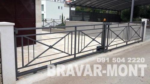 Bravar-Mont-445 moderne kapije i ograde