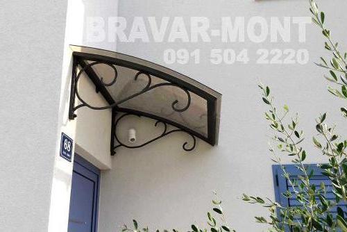 Bravar-Mont-316 ostali kovani elementi
